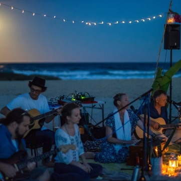 Sunset Beach Kirtan