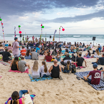 Kirtan at Mindil Beach Markets
